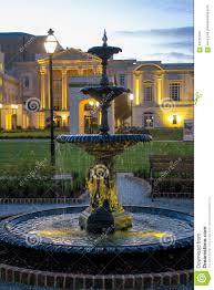 Fountain At The Gaillard Center Charleston Sc Editorial