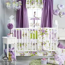 Lavender Nursery Baby Girl Purple Lavender Green Babies Quilt Crib Nursery