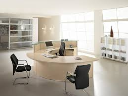 round office desk. contemporary desk contemporaryofficefurnituredesignwithroundshapedbeige for round office desk