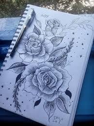 просто эскиз тату цветочки наверно не оч получилось Art Flowers