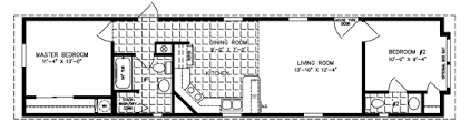 single wide mobile home floor plans.  Mobile Manufactured Home Floor Planssingle Wide Plan  Bedroom On End On Single Wide Mobile Home Floor Plans