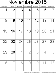 Calendarios Para Imprimir 2015 Calendario Para Imprimir Noviembre 2015 Calendarios Para