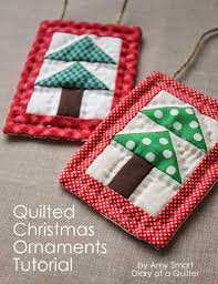 Quilted Christmas Ornament Tutorial - U Create & Quilted Christmas Ornament Tutorial Adamdwight.com