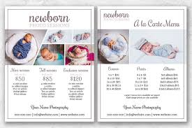 Photography Pricing Template Newborn Photography Pricing Guide Template