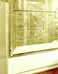 it s a pain to do and easy to forget but the shower door tracks in your bathroom need some tlc every once in awhile but have no fear