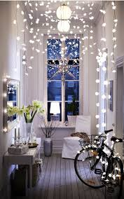 create a cozy space using the snowflake lights