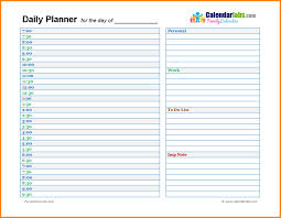 Day Planner Planner Template Beautiful Daily Planner 10