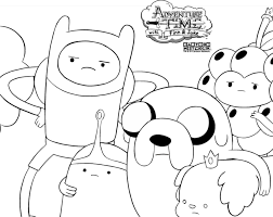 Small Picture Adventure Time Coloring Pages Adventure Time Coloring Pages Best