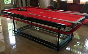 Nottage Design Pool Table Price G7 Glass Pool Table Glass Billiards