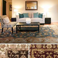 3 x 5 area rug unique hand tufted wool transitional paisley area rug 3 3
