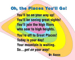 Dr Seuss Oh The Places You Ll Go Quotes Inspiration Oh The Places You Ll Go Eskayalitim