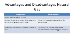 Advantages And Disadvantages Of Natural Gas Nonrenewable Energy Resources Ppt Video Online Download