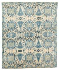 ikat rug photo 1 of 6 with a border dark blue and tan area rugs exceptional ikat rug vintage vibrant luxurious silk sari print uk