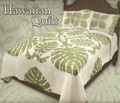 hawaiian quilted bed comforters
