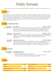 Student Resume Summer Job Resume Samples Career Help Center
