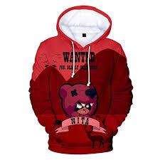2019 Game Cool Brawl Stars Hoodies 3D Hoodies Sweatshirts ...