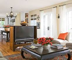 furniture to separate rooms. establish zones by adding a floating media console to separate rooms furniture