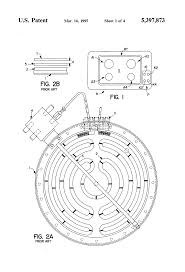 patent us5397873 electric hot plate with direct contact p t c hot plate thermostat bypass at Electric Hot Plate Wiring Diagram