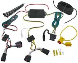 how to access tail light wiring to install trailer wiring harness t one vehicle wiring harness 4 pole flat trailer connector