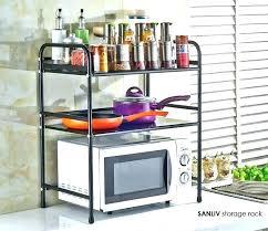 microwave storage shelf microwave storage shelf microwave stand two kitchen storage shelves kitchen kitchen storage rack