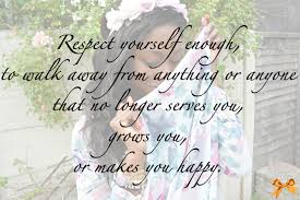 Thursday Thoughts Respect Yourself Runway Ribbons