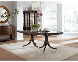 Two Pedestal Dining Table Double Pedestal Dining Table Dining Room Furniture Thomasville