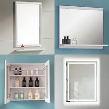 Wandspiegel Badspiegel Mit Ablage Hängespigel Spiegel