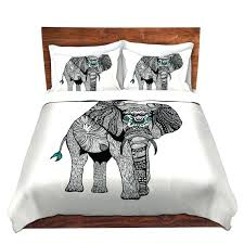 one tribal elephant bed duvet cover for twin queen and king size beds astonishing king size