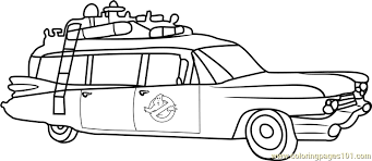 Small Picture Ghostbusters Van Coloring Page Free Ghostbusters Coloring Pages
