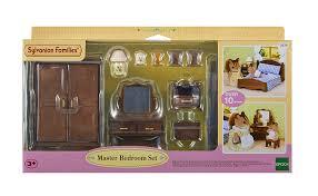 Sylvanian Families Bedroom Furniture Set Sylvanian Families Master Bedroom Set Amazoncouk Toys Games