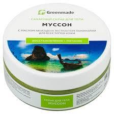 Greenmade <b>Сахарный скраб для тела</b> Муссон — купить по ...