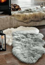 faux sheepskin rug luxury faux sheepskin rug from the next within faux fur