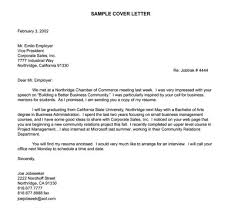 Cover Letter To Employer Cover Letter Sample Cover Letter Employer