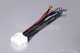 panasonic car radio stereo 16 pin wire wiring harness 2 ebay panasonic car stereo wiring color codes at Panasonic Wiring Harness