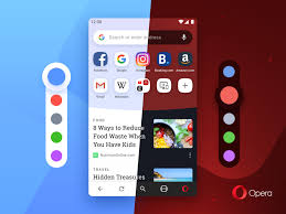 Android 8 Design Opera For Android 54 Has A New Look With A Splash Of Color