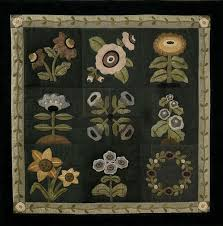 139 best images about Appliqué on Pinterest | Folk art, Wool and Quilt & Garden Bouquet (Block-of-the-Month) Kit -