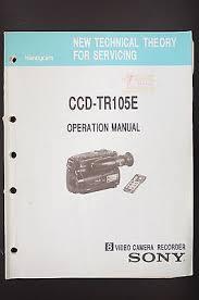 service manual sony ccd tr555 tr555e handycam,original \u2022 £15 74 Sony Ccd Wiring Diagram sony ccd tr105e original operation manual service manual wiring diagram diagram sony ccd camera wiring diagram