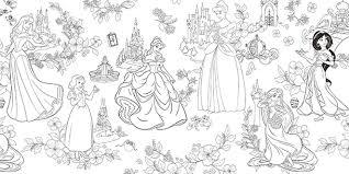 Disney Girls Coloring Book Premium 宝島チャンネル