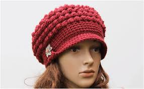 Crochet Newsboy Hat Pattern Enchanting Crochet Brimmed Hat Free Pattern Yarnandhooks