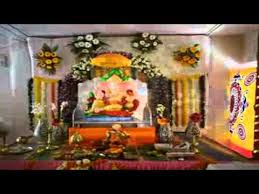 ganpati festival decoration ideas home