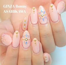 Ginza Bonny旭川店さんのネイルデザイン ピンクベージュのワンカラーに