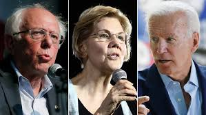 Biden, Sanders and Warren take different paths to the top of the 2020 pack