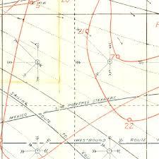 Pilot Chart Of The North Atlantic Ocean 1903 National