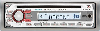 sony cdx m10 marine cd receiver with front panel auxiliary input at Sony Cdx M10 Manual at Sony Cdx M10 Wiring Diagram