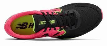 new balance hanzo. new balance hanzo s running shoes womens pink/black (677xkqwtj)