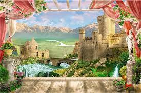 castle wall murals wallpaper