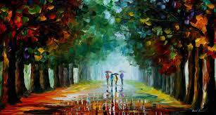 landscape painting artists landscape painting bright rain bright rain