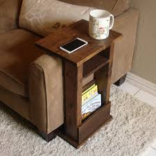 laser cut wood armchair table with device standsofa gifts
