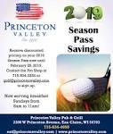 2019 Season pass Savings, Princeton Valley Golf Course, Eau Claire, WI