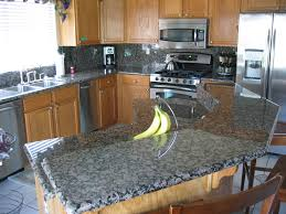 Granite Kitchen Countertop Colors Kitchen Granite Colors And Tile Combinations Best Home Designs
